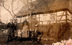 Buchhorst 1927 Familie Herzfeld Riether Stiege
