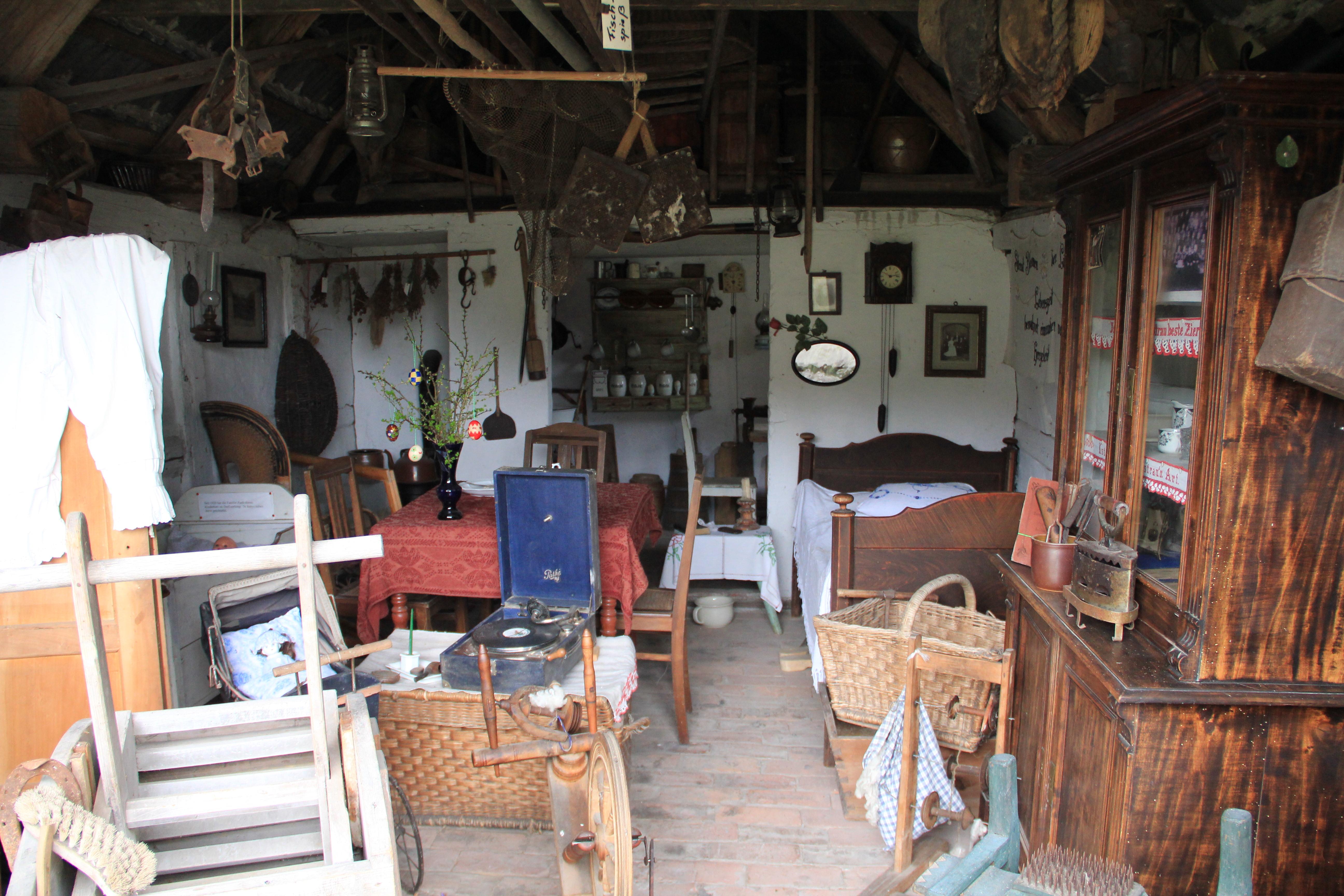 Heimatstube Rieth kleinstes Museum in Mecklenburg Vorpommern