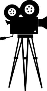 Filmprojektor Kino in der Kirche Rieth