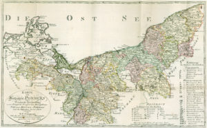 Herzogtum Pommern um 1794