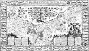 Lubinische Karte von Pommern von 1618