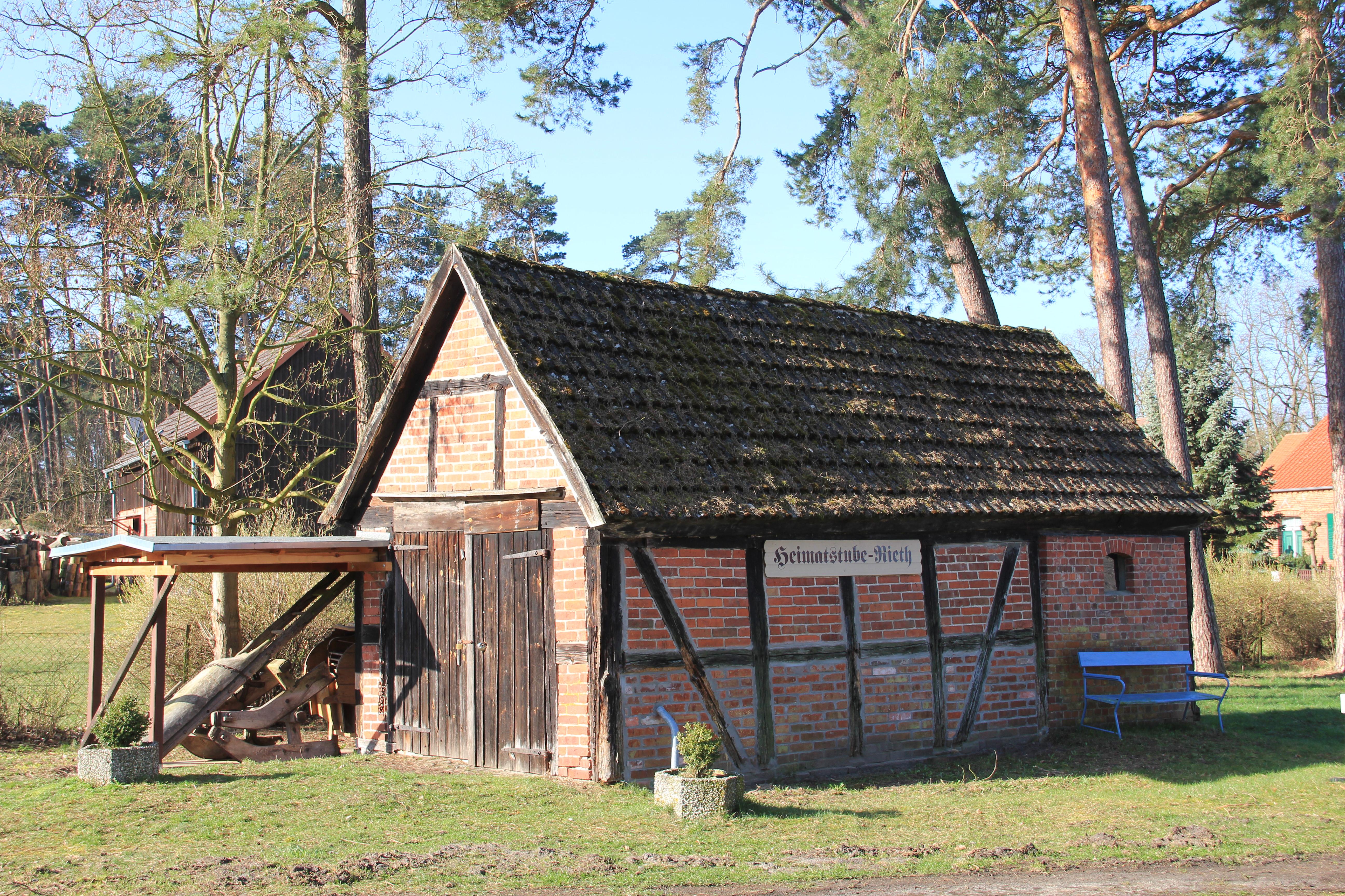 Heimatstube Museum Rieth in Vorpommern